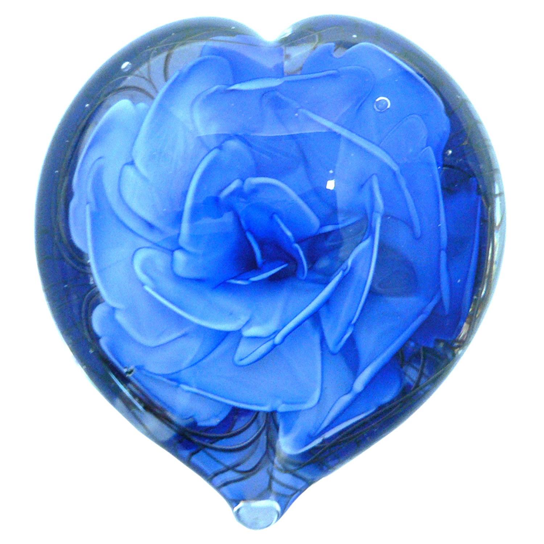 Pws875 heart blue flower paperweight kenjasper roses glass pws875 heart blue flower paperweight kenjasper roses glass paper weights kenjasper pws875 heart blue flower paperweight mightylinksfo