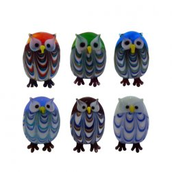 Owls S/12 Boxed