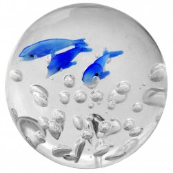 Dolphin paperweight