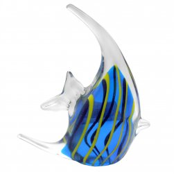 Glass Angel Fish - Blue