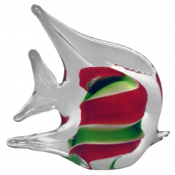 Angel Fish Red and Green