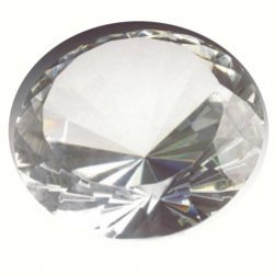 Box of 12, Clear Diamonds 2cm