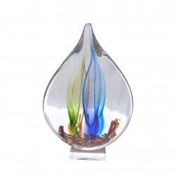 Glass Teardrop Statue