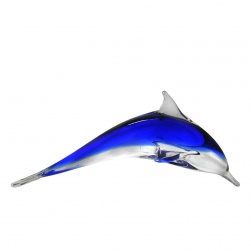 Single Dolphin Dark Blue