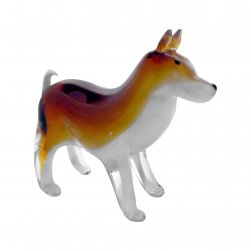 Glass Dog, Brown