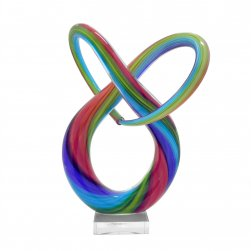 Neutronic Glass Sculpture