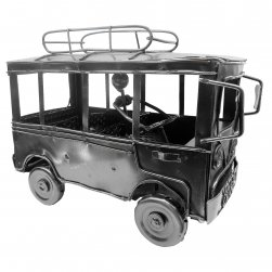 EB-74197 Vintage Bus with Roof Rack