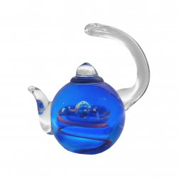 Glass Teapot Dancing Moon - Gift Boxed