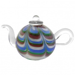 Coloured Mini Teapot