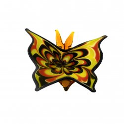 Butterfly with Red,Yellow and Black Colour