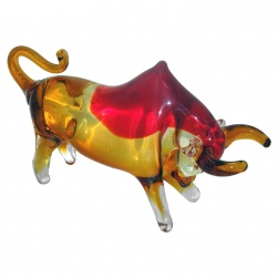 Red Charging Bull