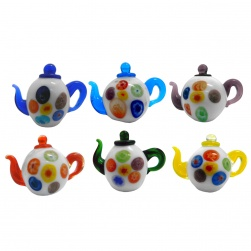 Mini Teapot set S/6