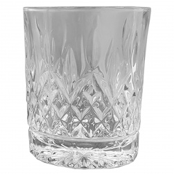GCDC-GS100 Crystal Cut Square Tumbler Set of 6