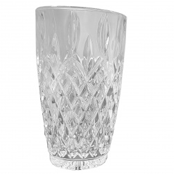 GCDC-GG140 Crystal Cut Curved Highball Set of 6