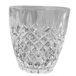 GCDC-GG95 Crystal Cut Curved Tumbler Set of 6
