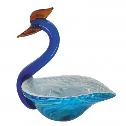 GF5240 Glass Bowl Shape Peacock