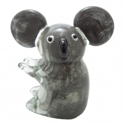 Glass Koala Figurine