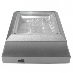 Coloured LED Light Stand - Silver