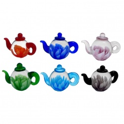 Miniature Teapot Set of 6